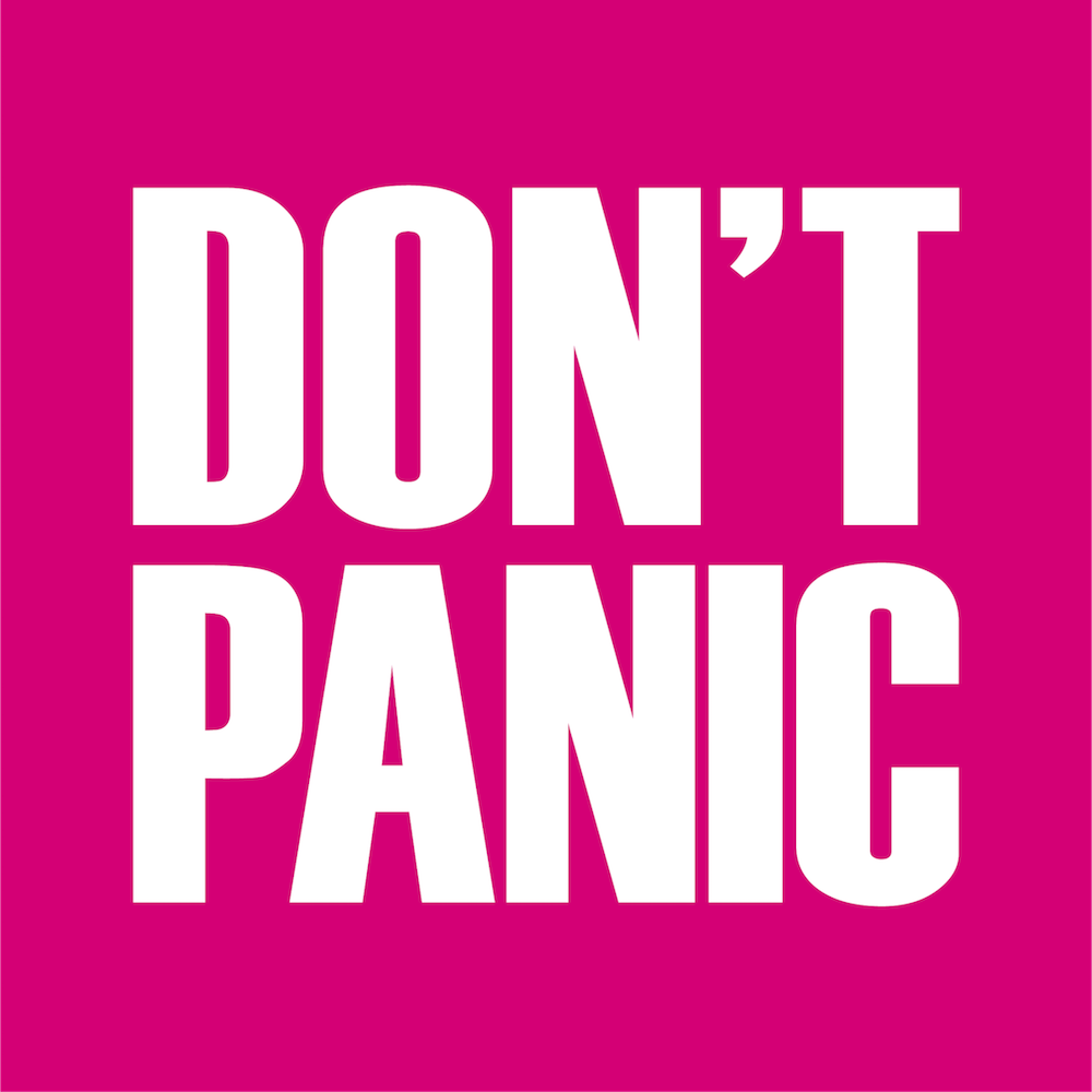 Don't Panic Events logo