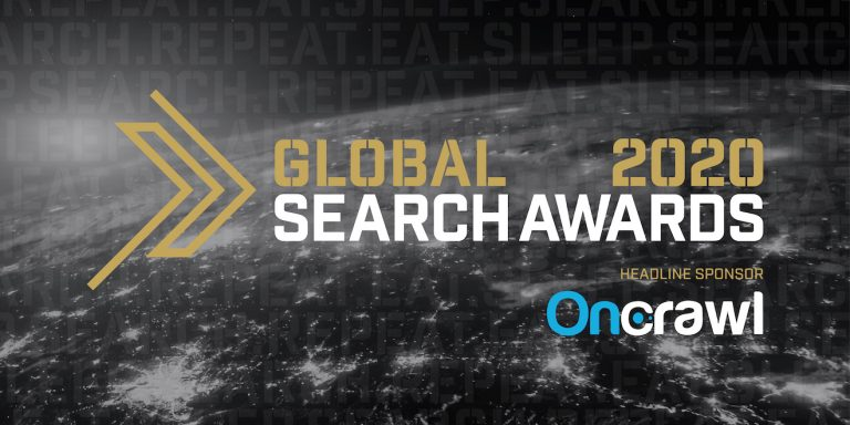 A message from our Headline Sponsor of the Global Search Awards, OnCrawl image