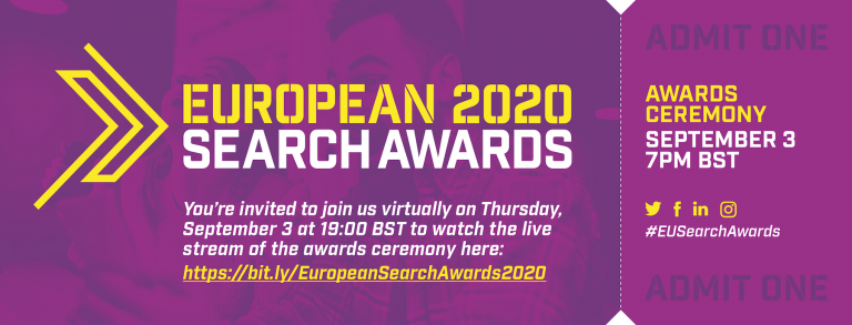 European Search Awards 2020 – Watch it live tonight! image
