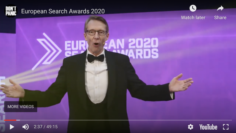 European Search Awards 2020 – The Winners image