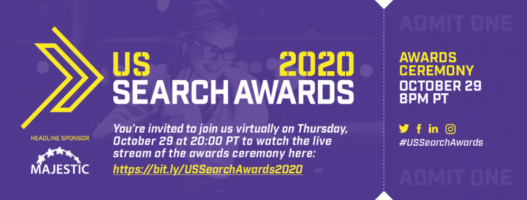 US Search Awards 2020 – Watch it live tonight! image