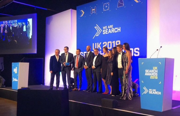 Reasons to be a We Are Search Award Winner from the Top! image